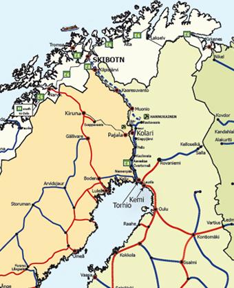 skibotn kart Baneservice   Årsrapport 2009 skibotn kart